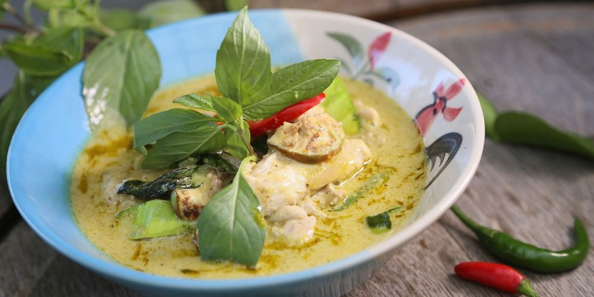 Recipe: Quick, Easy and Tasty Thai Green Curry image