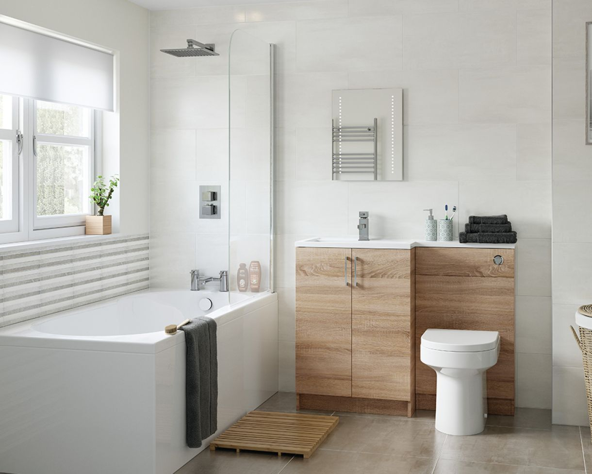 Bathroom Ideas on a Budget  Gardiner Haskins