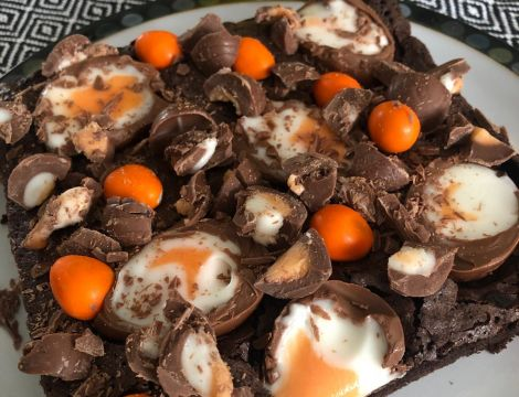 Easter Brownie Recipe image