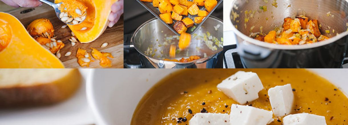 Recipe: Butternut Squash Soup image