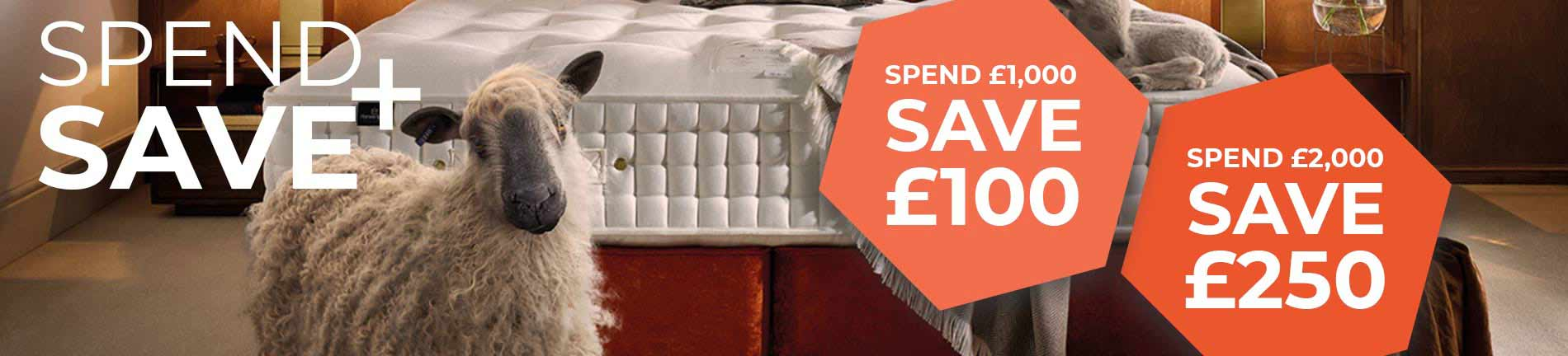 Bristol Beds and Mattresses Spend and Save Banner