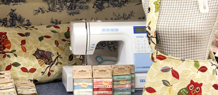 Sewing accessories, a sewing machine and mannequin