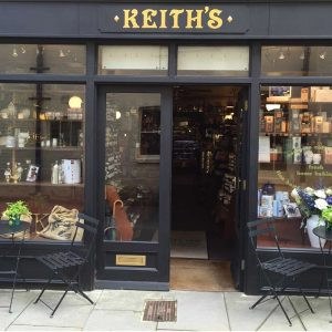 Keith's Coffee Shop in Blackjack Street Cirencester