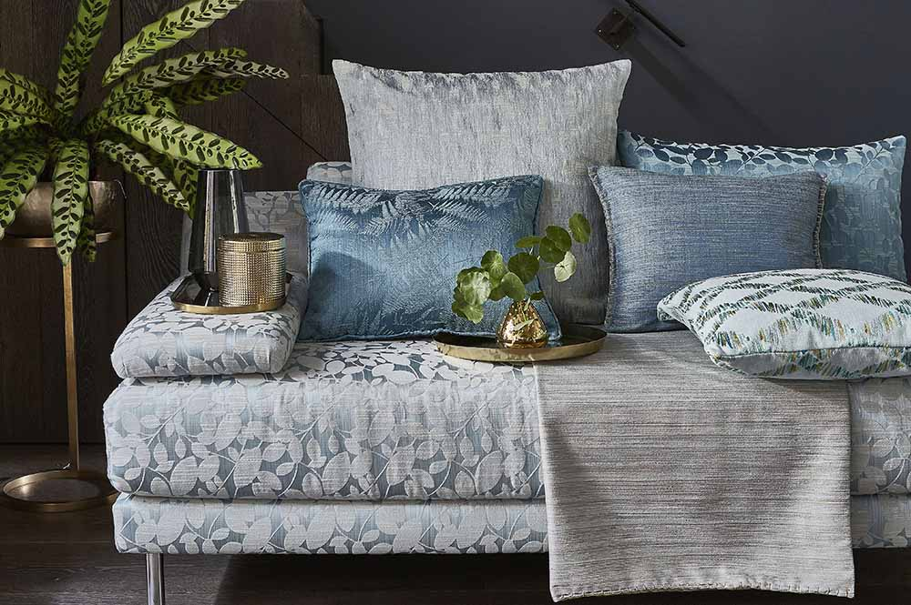 Autumn Home trends AW17 Aqua jewel colours such as greens and vibrant turquoise