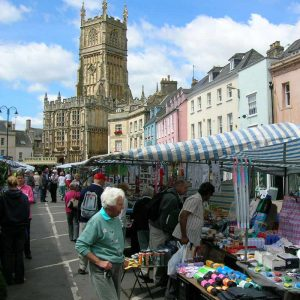 Marketplace Cirencester Highstreet
