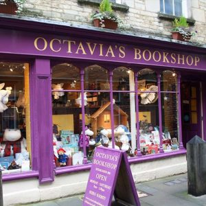 octavia's bookshop on Cirencester High Street