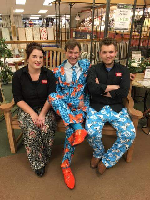 Gardiner Haskins Staff on Wrong Trousers Day