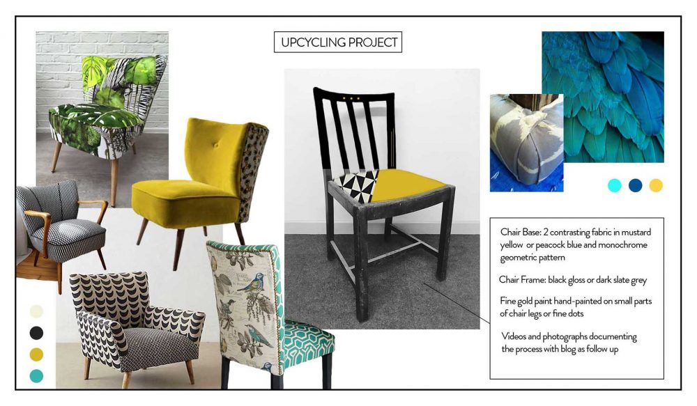Upcycling Project Moodboard