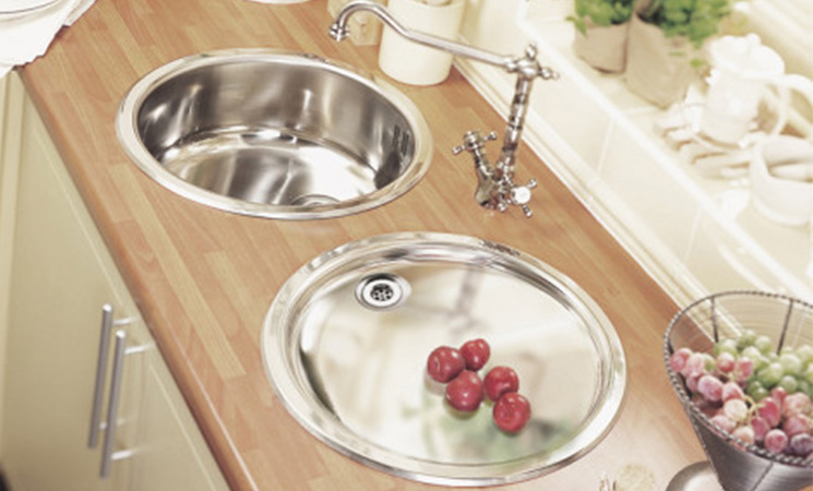 Round sink for a contemporary feel