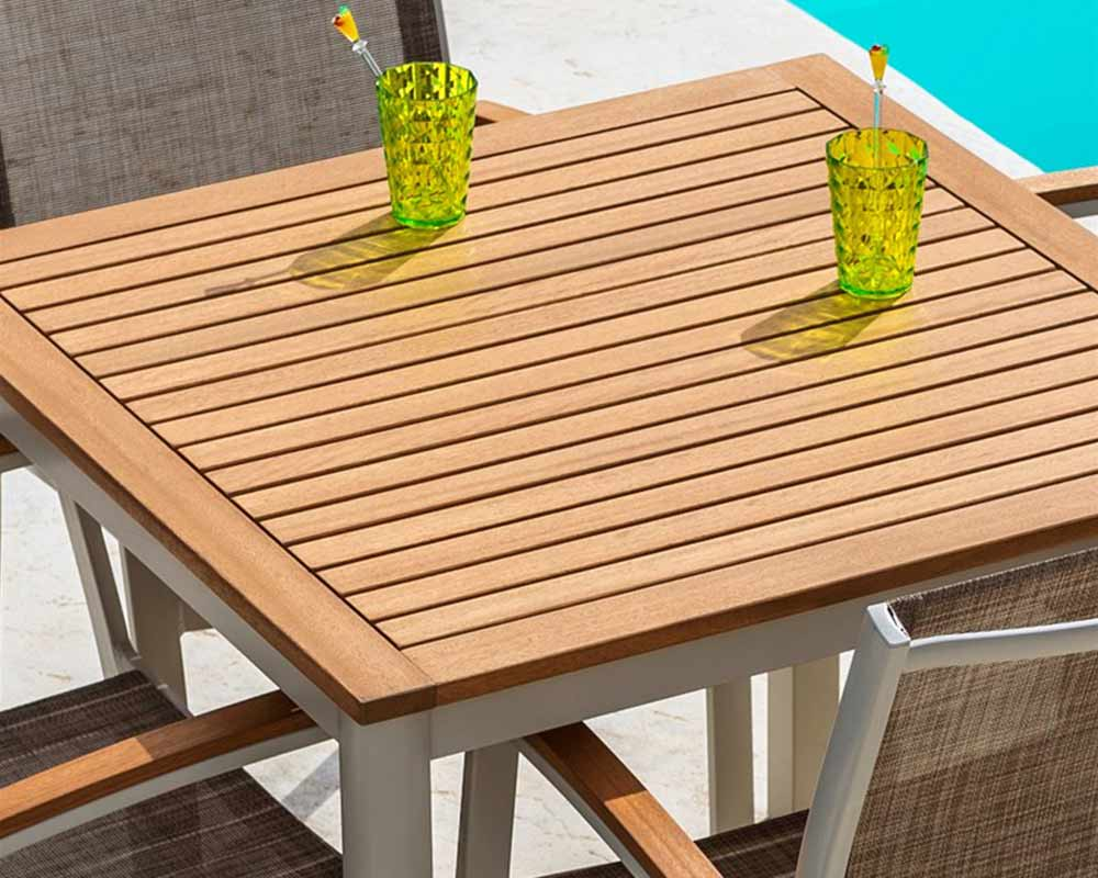 The Lifestyle Garden 4 seat dining set is perfect for dining al fresco with the family this summer. thumbnail two