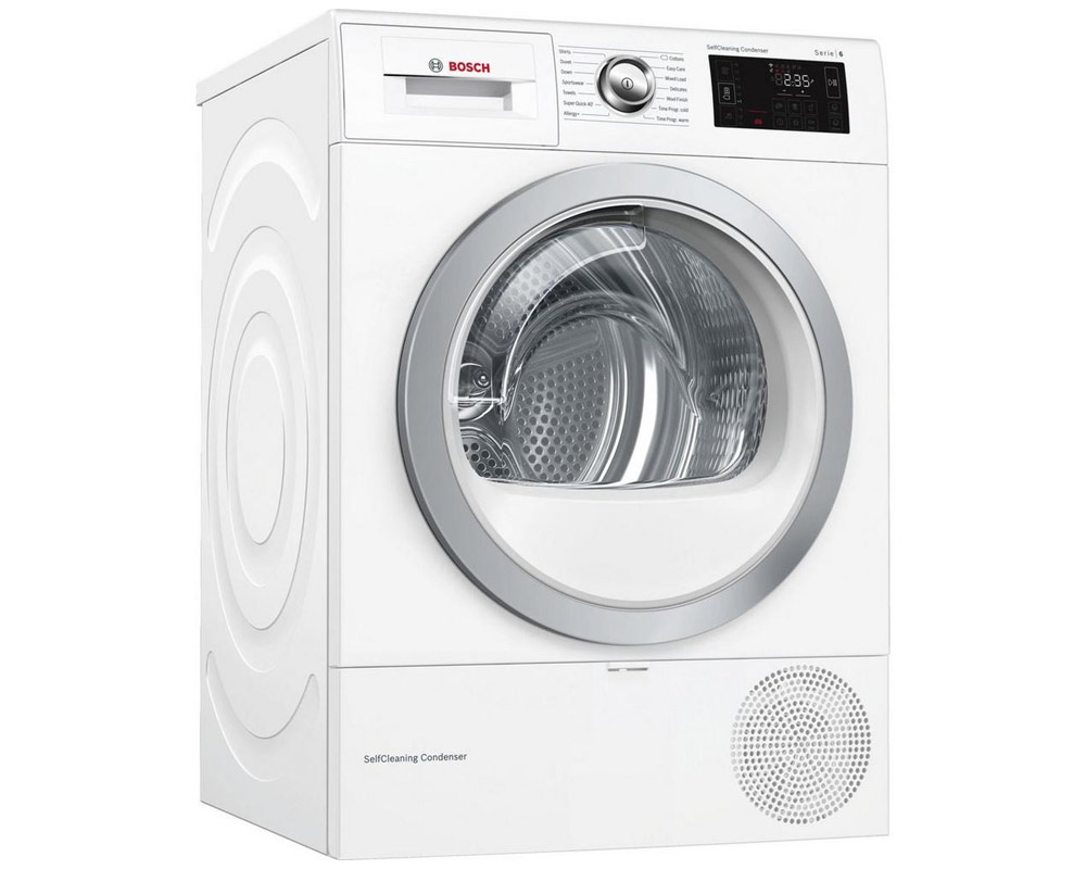 Bosch WTWH7660GB Condenser Tumble Dryer thumbnail one