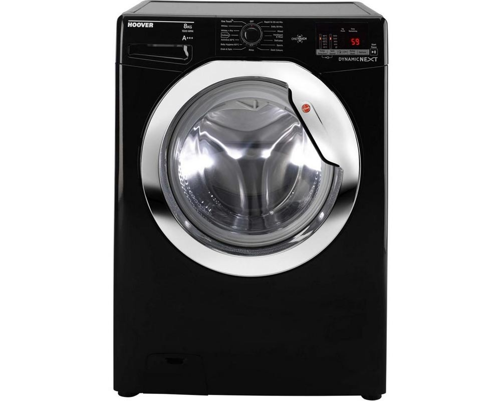 Hoover DXOC58C3B 8kg 1500 Spin Washing Machine thumbnail one