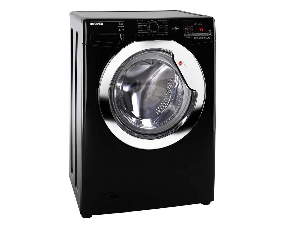 Hoover DXOC58C3B 8kg 1500 Spin Washing Machine thumbnail two