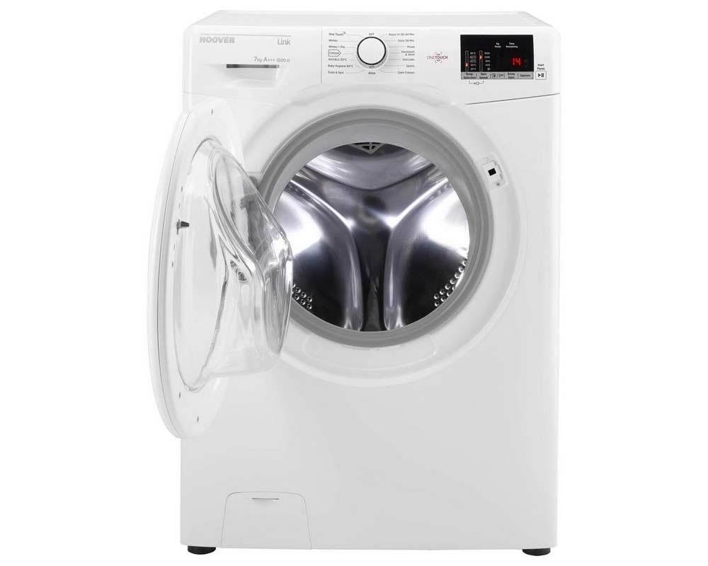 Hoover HL1572D3 7kg 1500 Spin Washing Machine thumbnail four