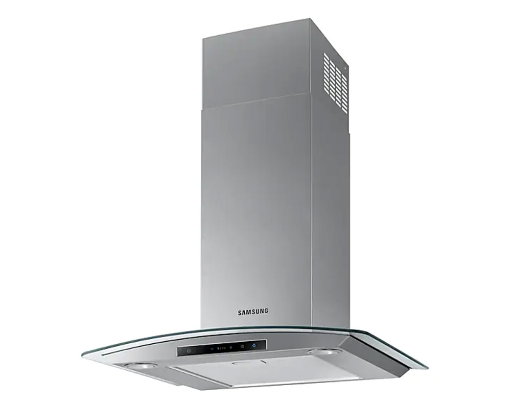Samsung Wall Mount Cooker Hood with 4 Speeds, 60cm NK24M5070CS/UR thumbnail two