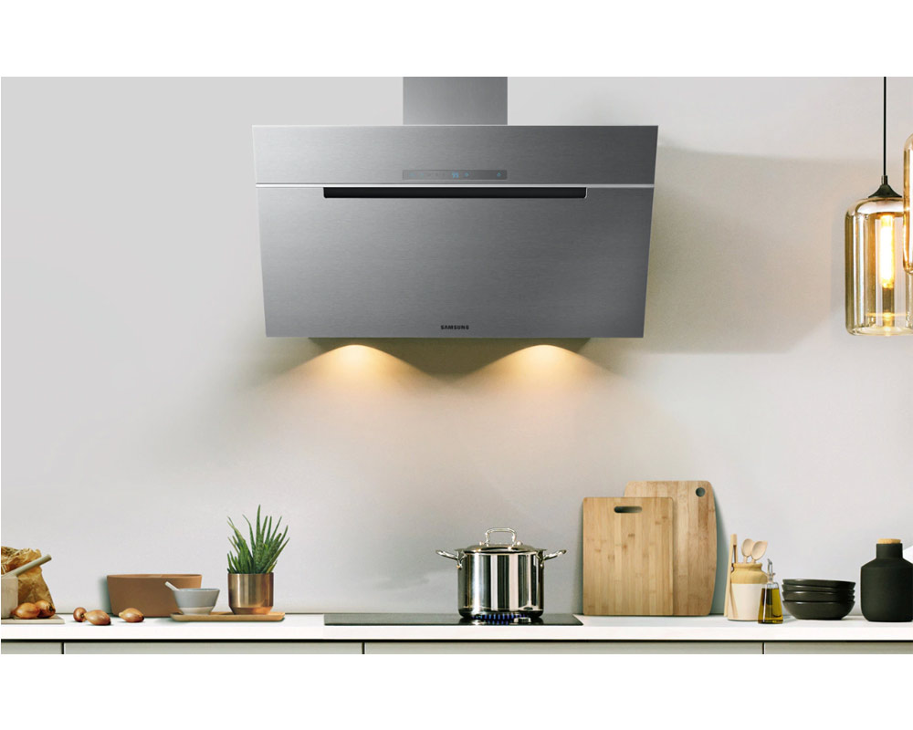 Samsung Wall Mount Cooker Hood with Premium Design, 60cm NK24M7070VS/UR thumbnail three
