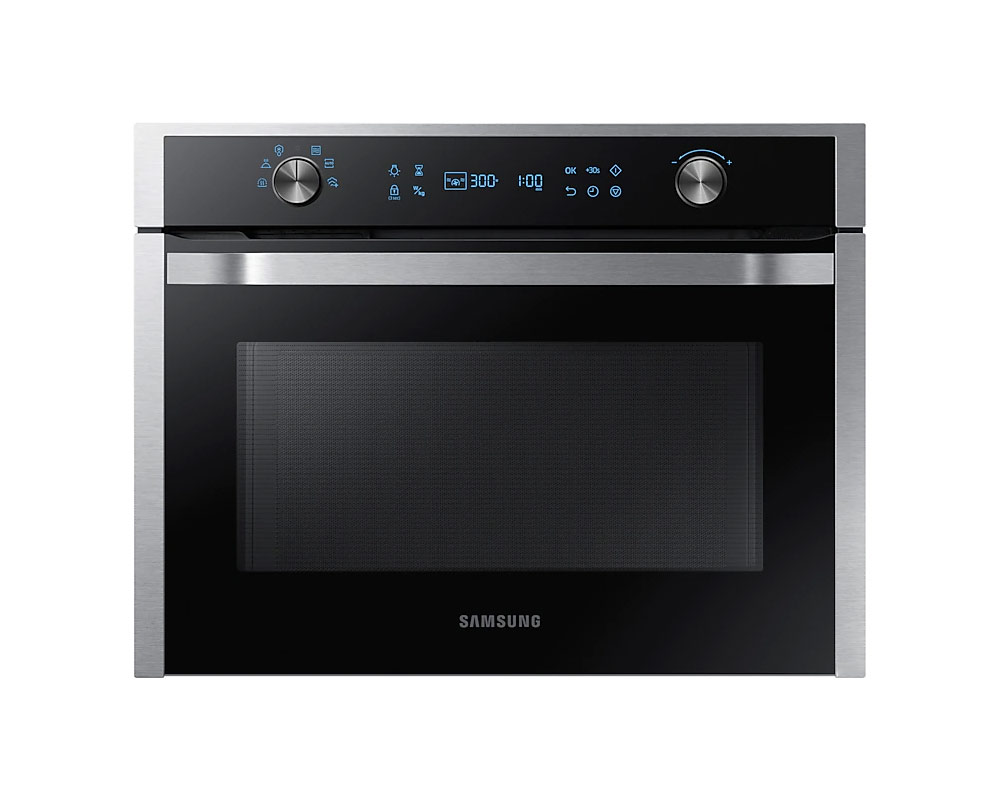 Samsung Chef Collection Built-In Solo Microwave with Steam Clean, 50L NQ50K5130BS thumbnail one