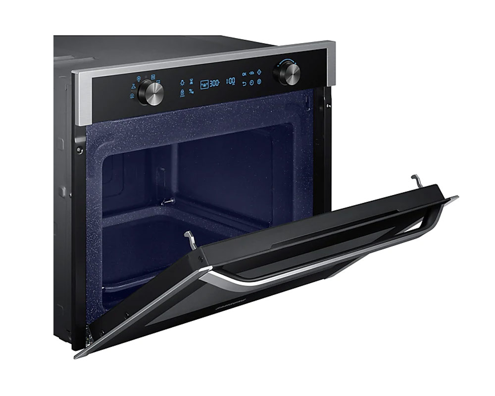 Samsung Chef Collection Built-In Solo Microwave with Steam Clean, 50L NQ50K5130BS thumbnail two