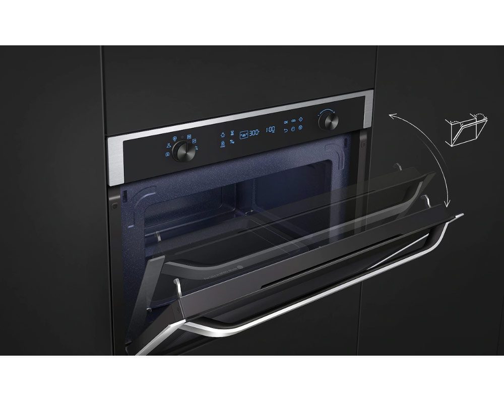 Samsung Chef Collection Built-In Solo Microwave with Steam Clean, 50L NQ50K5130BS thumbnail four